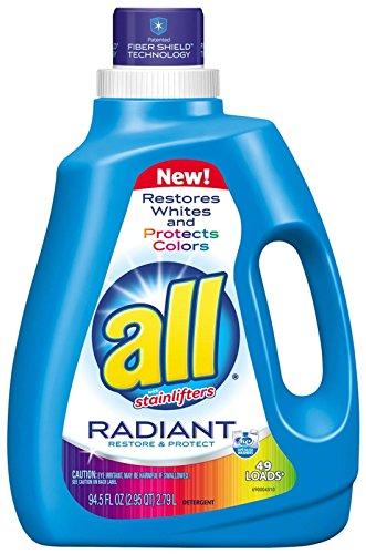 all Liquid Laundry Detergent, Radiant - 94.5 oz
