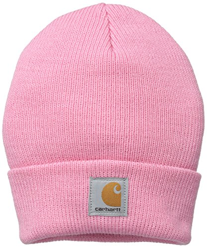 Carhartt Boys' And Girls' Acrylic Watch Hat,  Rosebloom,  Toddler (Toddler Pink Hat)