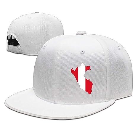 Gorra de béisbol ajustable con diseño de mapa de la bandera de ...