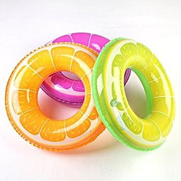 Adultos y Niños Creative Fruit Deportes de Agua Flotador para natación boya salvavidas Equipo de Natación Naranja naranja Talla:10-15KG: Amazon.es: Deportes ...