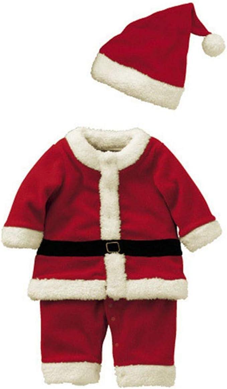 Cosanter Disfraz de Papá Noel, Ropa de Navidad para niños y Niña ...