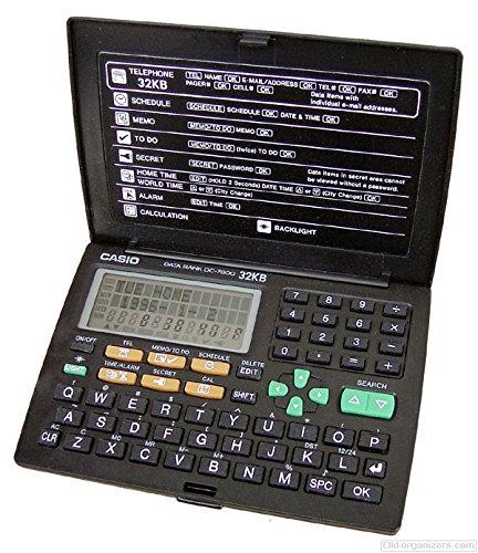 Casio Data Bank DC 7800 Electronic Handheld