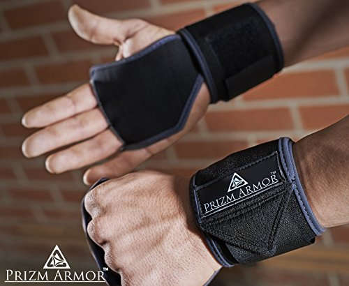 WODGuards | Cross Training Gloves for WODs. Palm Protector + Wrist Wrap glove for Men & Women.