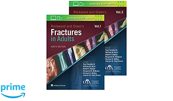 Rockwood and Greens Fractures in Adults: Amazon.es: Dr. Paul ...