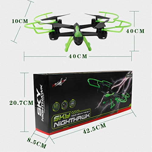 ABCsell 2017 1331S SKYHAWK Quadcopter Drone FPV With Real-Time Transmission by abcsell