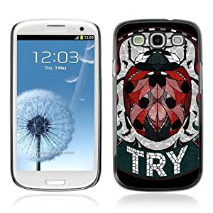 Designer Depo Hard Protection Case for Samsung Galaxy S3 / Cute Ladybug