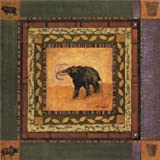Canvas Prints Of Oil Painting ' an Elephant ' , 24 x 24 inch / 61 x 61 cm , High Quality Polyster Canvas Is For Gifts And Basement, Garage And Kids Room Decoration, wall art