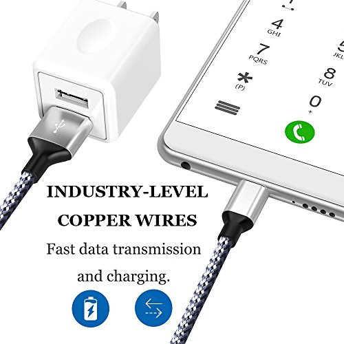USB Wall Charger, 2-Pack 2.1A/5V Dual Port USB Plug Power Adapter Charging Cube Compatible iPhone X 8/7/6 Plus SE/5S/4S,iPad, iPod, Samsung, Android Phone -White by UltraSealers (Image #4)