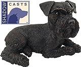 Ever My ShadowCast Bronze Schnauzer Ears Down Dog Pet Urn