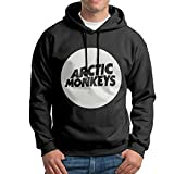 FDLB Mens Arctic Monkey Hip-Hop Cool Hoodie Sweatshirt M Black