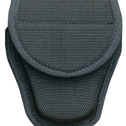 Bianchi Accumold 7300 Covered Black Handcuff Case with Hidden Snap