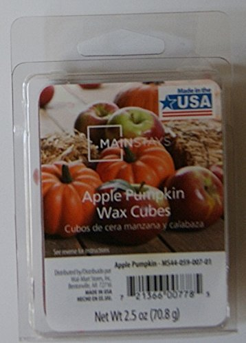 - Home Fragrance Apple Pumpkin Wax Cubes by Mainstays
