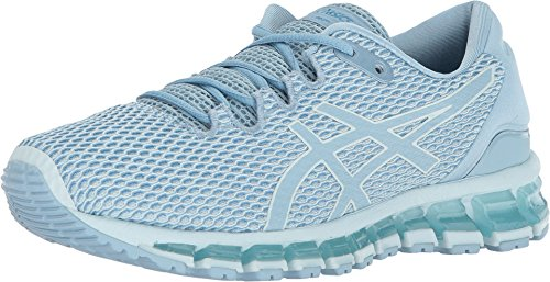 ASICS T889N Women's Gel-Quantum 360 Shift MX Running Shoe, Whispering Blue/Smoke Light Blue/Turkish Tile - 7