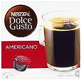 Nescafé Dolce Gusto Caffè Americano, Kaffee, Kaffeekapsel, 3er Pack, 3 x 16 Kapseln