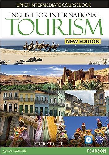 English for Intermediate Tourism Upper Intermediate Student Book ...