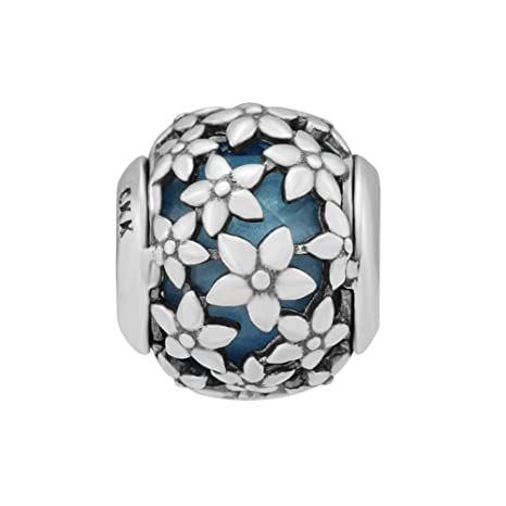 Jewelry & Accessories Beads 925 Sterling Silver Bead Full Of Multi-colored Cz Beads Fit Charms Diy Bracelets Bangles Jewelry Making For Women Girls Gift