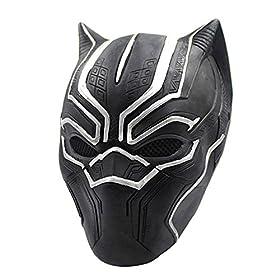 - 51yI0ovozBL - Joyfunny Panther Muscle Chest Battle Suit Costume 3D Black Jumpsuit