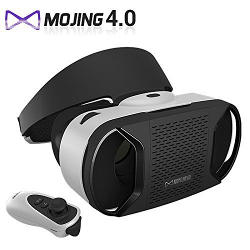 VR VISIONER®Baofeng Mojing 4 VR Glasses 3D Headset for Smartphone with Gamepad( Android Version )