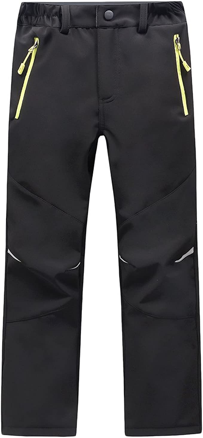 Zhhlinyuan Unisex Outdoor Waterproof Quick Dry Trousers Girls Boys Sport Pants