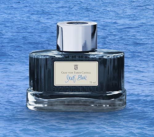 - Faber-Castell GRAF 141018Bottled Ink Refill Gulf Blue