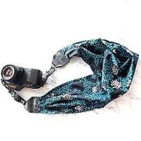 Mimi Green Blue Algae Scarf DSLR Camera Strap