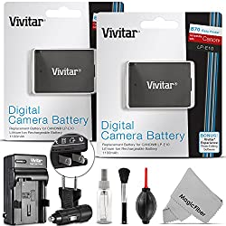 Image of the product 2 Pack Vivitar LP E10 that is listed on the catalogue brand of .