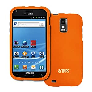 Orange Hard Case Cover for Samsung Galaxy S2 S II T-Mobile T989 SGH-T989 Hercules