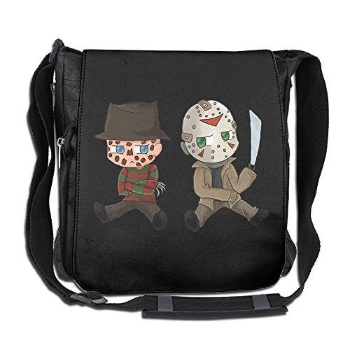 CMCGH Nightmare On Elm Street Messenger Bag Traveling Briefcase Shoulder Bag For Adult Travel And Business Trip