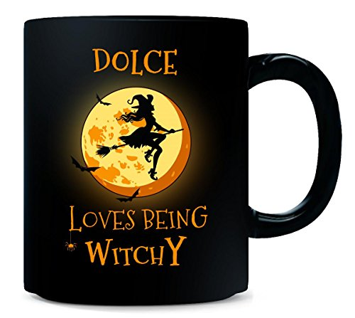 Dolce Loves Being Witchy. Halloween Gift -
