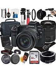 $2099 » Canon EOS R Mirrorless Digital Camera with RF24-105mm F4-7.1 is STM Lens + Mount Auto Focus Adapter EF-EOS R + 32GB Card + Tripod + Case + MegaAccessory Bundle (22pc Bundle) (SanDisk 32GB)