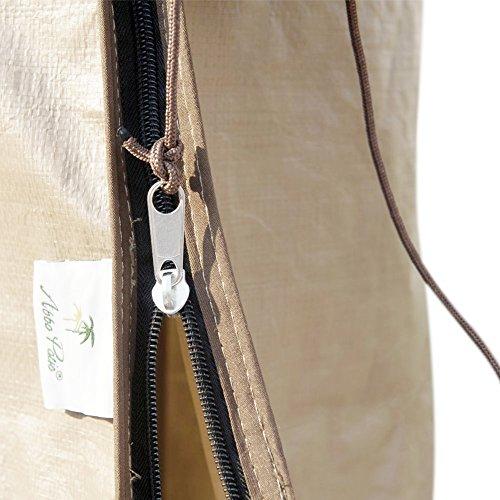 Abba Patio Outdoor Market Patio Umbrella Cover for 7-11 Ft Umbrella, Water Resistant, Beige by Abba Patio (Image #4)