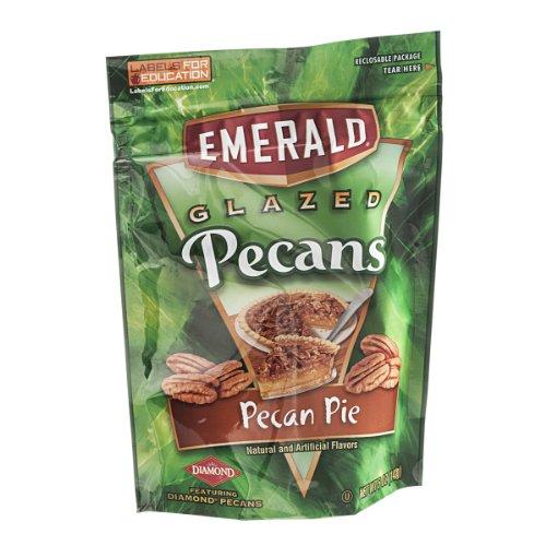 Emerald Glazed Pecan Pie Pecans