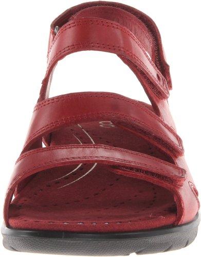Ecco Babett Damen Slingback Sandalen Rot (BRICK 1065)