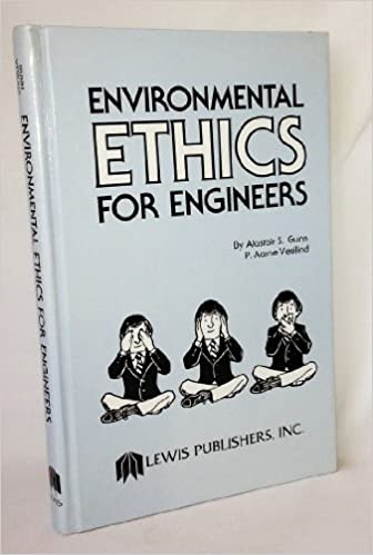 Environmental ethics for engineers alastair s gunn p a vesilind environmental ethics for engineers alastair s gunn p a vesilind 9780873710749 amazon books fandeluxe Gallery