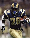 MARSHALL FAULK ST. LOUIS RAMS 8X10 SPORTS ACTION PHOTO (A)