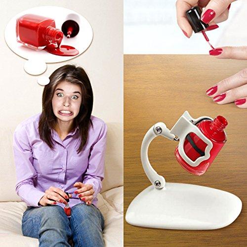 Nail Polish Holder Grip & Tip and Nail Art Surprise! The ...