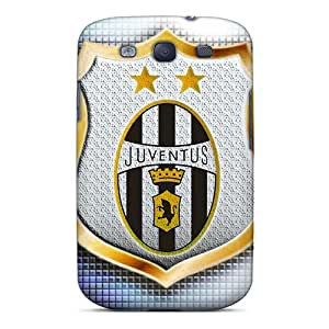 Ultra Slim Fit Hard Jenipper Case Cover Specially Made For Galaxy S3- Juventus