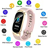 Color Screen Fitness Tracker, LIGE Activity Tracker Smart Watch IP68 Waterproof, Heart Rate
