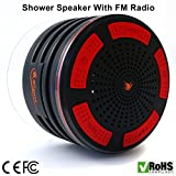 Best Shower Radios - iFox iF013 Bluetooth Shower Speaker - Certified Waterproof Review