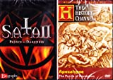 The History Channel : Apocalypse The Book Of Revelation , Biography Satan Prince Of Darkness : All About The Devil and Biblical End Times 2 Pack