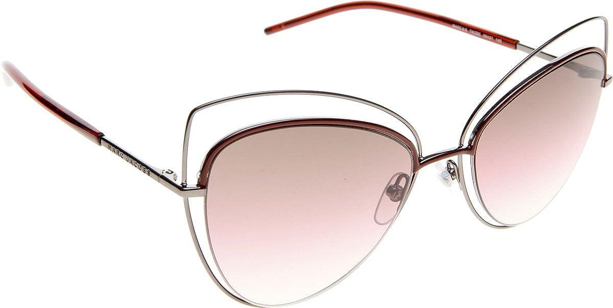 cf998f06da Amazon.com  Marc Jacobs 8 S Sunglasses Dark Ruthenium Brown Mirror Orange  Polarized  Clothing