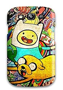 Quality Ortiz Bland Case Cover With Finn And Jake Cartoon Nice Appearance Compatible With Galaxy S3