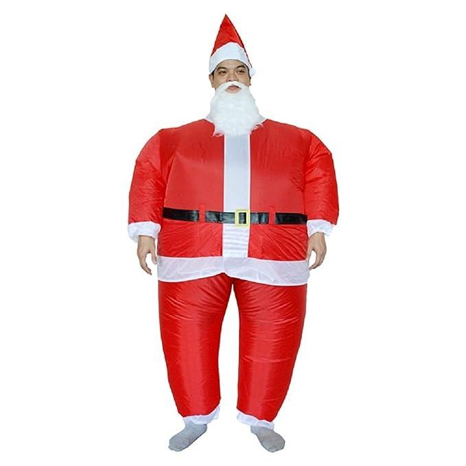 Amazon.com: yoweshop disfraz de Navidad Disfraz de Papá Noel ...