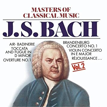 Masters Of Classical Music: JS Bach