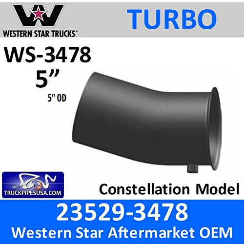 Amazon.com: WS-3478 Western Star Turbo Pipes for C15 CAT 23529-3478: Automotive