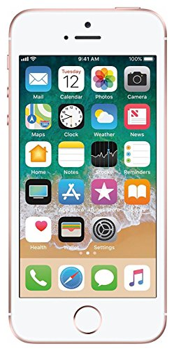 Apple iPhone SE, 16GB, Rose Gold - For AT&T / T-Mobile (Renewed)