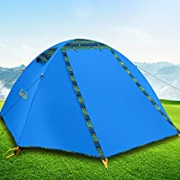 Campla Camping Tent 2 Person 4 Season Backpacking Tent...