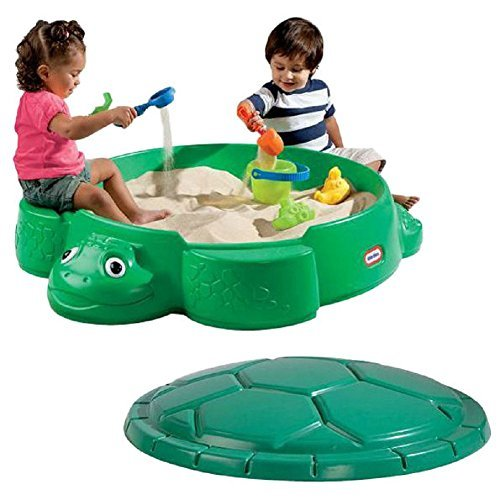 Little Tikes Turtle Round Sandbox, Kids Sandbox (Little Sandbox Turtle Tikes)