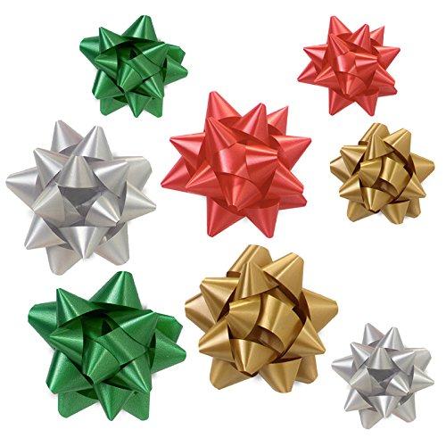 BonBon Paper Gift Wrap Christmas Ribbon Gift Bows Holiday Assortment Christmas Bonbons