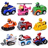 Action & Toy Figures - Paw Patrol toys set Dog Puppy Patrol Car Patrulla Canina Action Figures vinyl doll Toy Children Toys Paw Patrol birthday Gifts (9pcs)